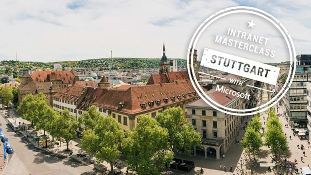 FREE Virtual Intranet Masterclass - Stuttgart