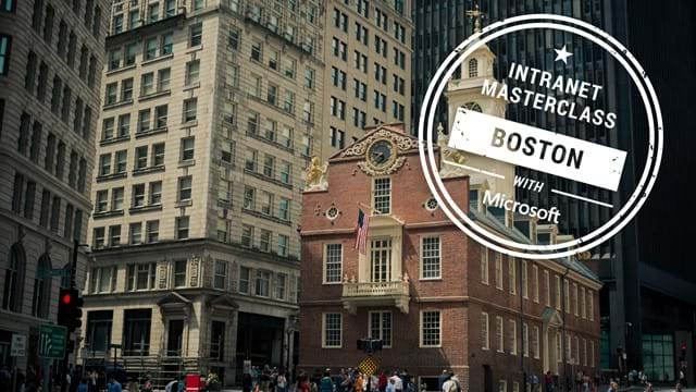 FREE Virtual Intranet Masterclass - Boston, MA