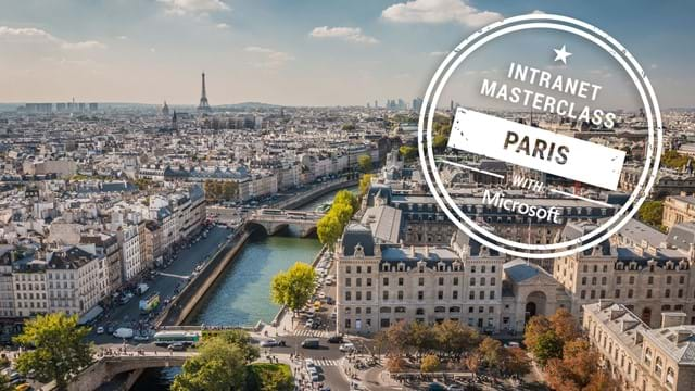 FREE Virtual Intranet Masterclass - Paris