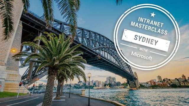 FREE Virtual Intranet Masterclass - Sydney